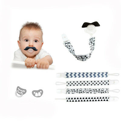 Cartoon Baby Pacifier Clip Chain Holder Strap for Baby Soother Decoration