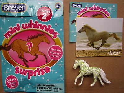NEW Breyer MINI WHINNIES Surprise Horse MYSTERY Blind Bags Green EMERALD