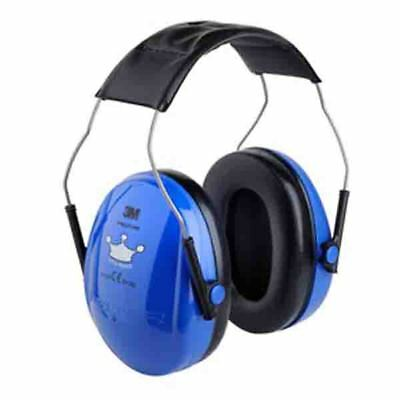 3M Peltor Optime Kid Little Prince Blue Children Ear Muffs Defenders New H510AK