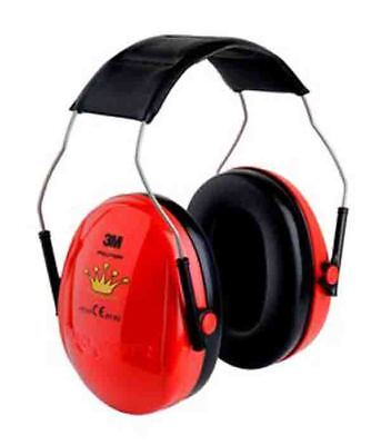 3M Peltor Optime Kid Little Princess Red Children Ear Muffs Defenders New H510AK