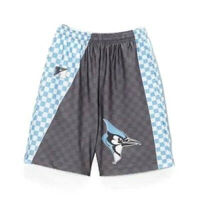 "Fit 2 Win Youth Basketball Style Shorts Johns Hopkins Sublimated 8"" Driflex XL"