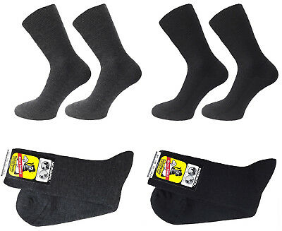 Herren-Socken Made in Germany 3 Paar Damen 100/% Schurwolle Feinripp