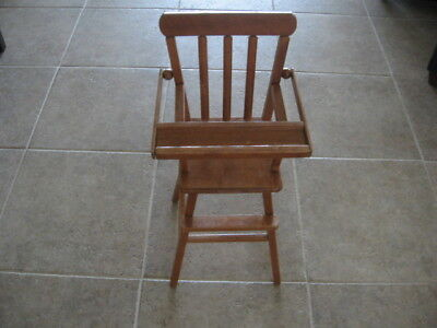 Beautiful Vintage Child  High Chair