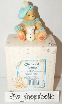 1993 Cherished Teddies 914754 JACK January Bear New Year Old Friends NEW Box NIB