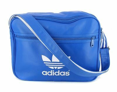 adf3037af8 Adidas Originals AirLiner Adicolor shoulder bag Synthetic Leather AJ8204  blue