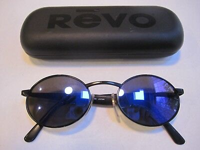 f7f8d283eab VINTAGE REVO H2O 962 010 Sunglasses Oval Blue Purple Mirror EUC ...