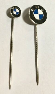 BMW Collectibles -2 BMW stick pins - small & large