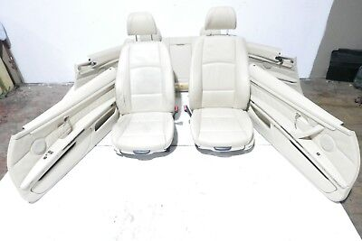 Bmw E92 Coupe M Sport Cream Leather Electric Interior Seats & Door Cards