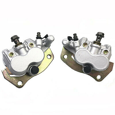 Left +Right Front Brake Caliper For Yamaha ATV RHINO 660 450 YXR 660 700 04-2013