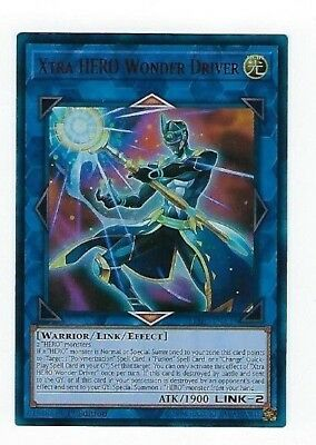 X1 Yugioh Xtra Hero Wonder Driver Lehd-Ena37 Ultra Rare 1St In Hand