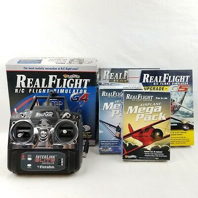RealFlight Simulator Lot RC Controller G5 6 Upgrade Helicopter Airplane Pack 043