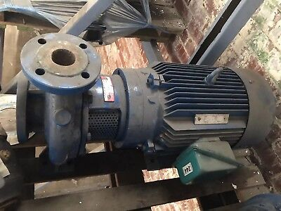 """Huge Throughput Centrifugal Pump Apex TC 50/200 With 18.5kw Motor. 3"""" Inlet"""