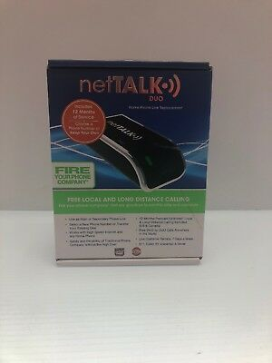 netTALK Duo Home Phone Line Replacement - New Sealed
