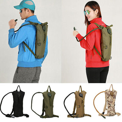 3L Camouflage Water Bladder Bag Hiking Camping Hydration Backpack Camelbak Pack