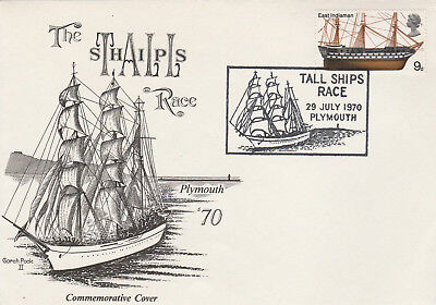 1970, Great Britain, Tall Ships Race Commemorative Cover
