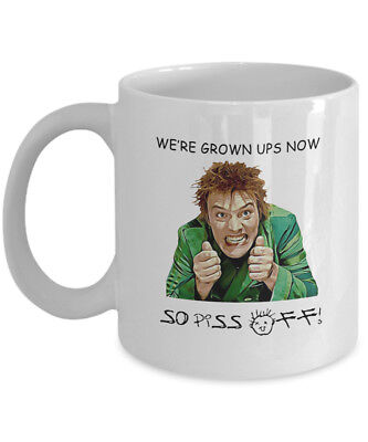 Drop Dead Fred we're grown ups now so piss off Funny Coffee Mug