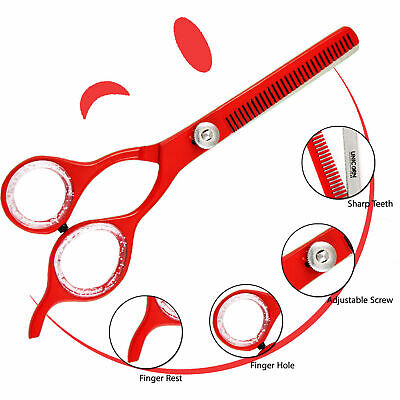 DOG GROOMING THINNING SCISSORS ThICK HAIR FUR EAR FACE CAT TRIMMING PET SHEARS