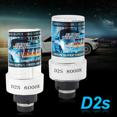 2x D2S XENON HID HEADLIGHT FOR 66040 66240 85122 53500 REPLACEMENT BULBS -35W