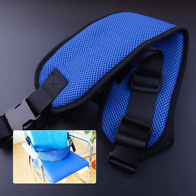 Safety Wheelchair Belt Bed Seat Guardrail Strap With Quick-Release Buckle