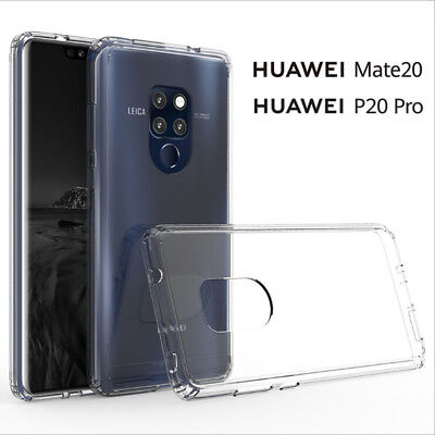 For Huawei P20 Pro Lite / Mate 20 Pro Shockproof Slim Silicone TPU Cover Case