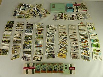 (Ref165DI) Huge collection of vintage cigarette cards