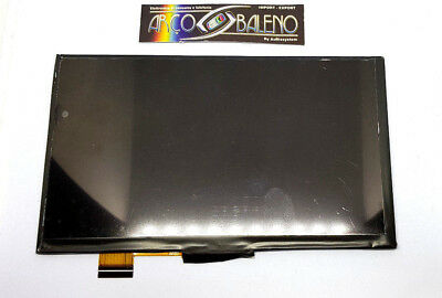 "Display Lcd Tablet Clementoni Clempad Mio Primo 7 2017 Plus 7"" 16602 16604 First"