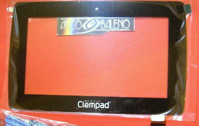 """Touch Screen +Vetro Clementoni My First Clempad 6.0 Plus 12241 7"""" Display Nero"""
