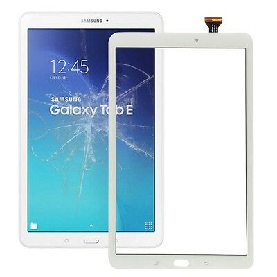 SDA VETRO+ TOUCH SCREEN per SAMSUNG GALAXY TAB E 9.6 SM-T560 LCD DISPLAY BIANCO