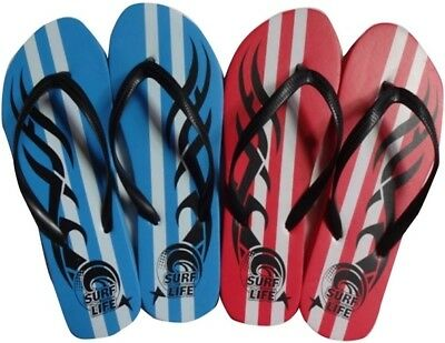 Mens Tribal Flip Flops Thongs Beach Sandals Sizes 7-12 UK NEW 1 pair FREE POST
