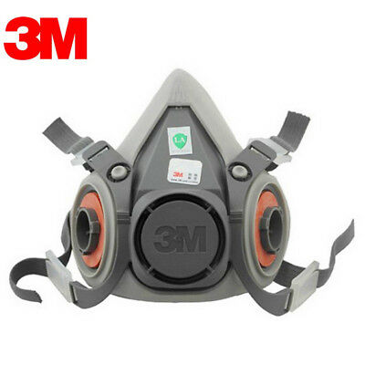 For 3M 6200 Respirator Painting Spraying Face Gas Main Mask