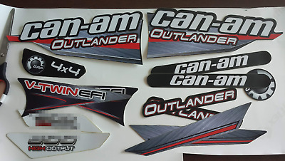 Bombardier 650 G1 BRP can-am outlander decals EMBLEM [461] 704900394