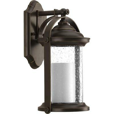 PROGRESS LIGHTING Whitacre Antique Bronze Outdoor LED Wall Mount Lantern