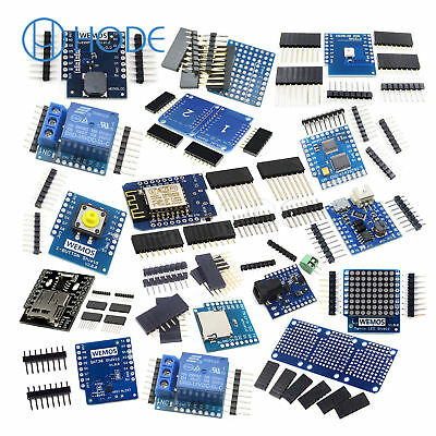 WeMos D1 Mini NodeMcu Lua ESP8266 Relay Shield Proto Board WiFi Module UK