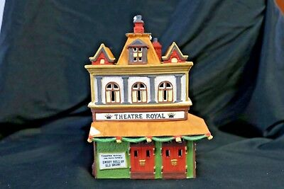 Department 56 Dickens Village Theatre Royal 55840 1989 Heritage Village Retired