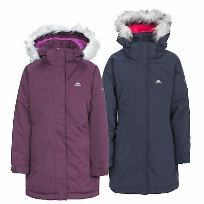 Trespass Girls Fame Waterproof Parka Jacket Childrens Clothing