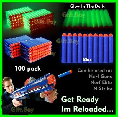 NERF Gun Darts Bullets Refill Soft Toy Elite Nerf N -Strike Round Head Blaster