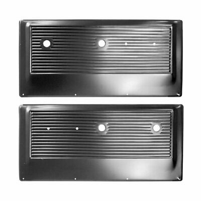 67 - 72 Chevy / 67 - 71 GMC Pickup Truck Door Inner Panel - Black / Pair