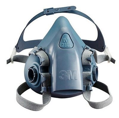 For 3M 7502 Half Facepiece Respirator Silicone mask Free Fhipping