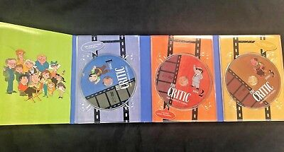 The Critic - The Entire Series (DVD, 2004, 3-Disc Set)