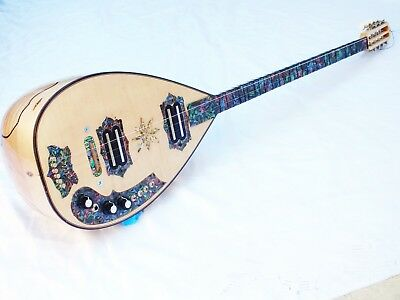 Halo Turkish Electric Saz Baglama With Softcase And Extrass