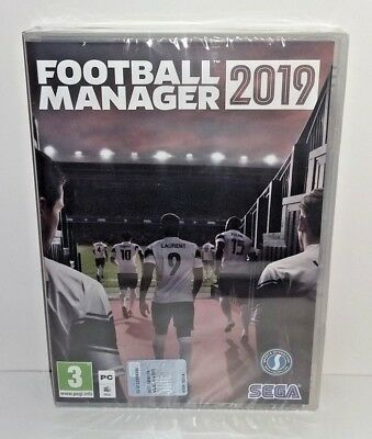 Football Manager 2019 PC NUOVO SIGILLATO ITA