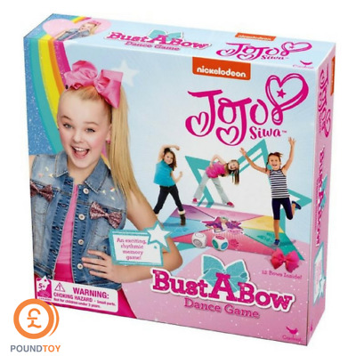 Jojo Siwa Bust A Bow Dance Game Nickelodeon Girls Toys