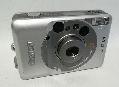 Canon IXUS L-1 APS Film Camera 26mm Wide Angle Lens - Point and Shoot - Lomo