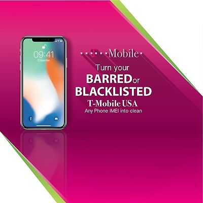 Usa T-Mobile Imei Unblacklist/cleaning Service - All Devices Supported!!! 99.9%