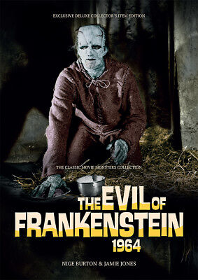 The Evil of Frankenstein 1964 Hammer horror Peter Cushing movie magazine