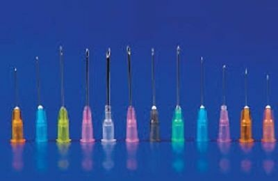 Medline Sterile Hypodermic Needles All Size, Gauge & Lengths 1000/Case FREE SHIP