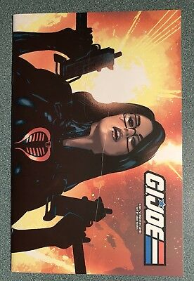 GI Joe 2 Adam Hughes 1:10 Incentive Variant Baroness See Description
