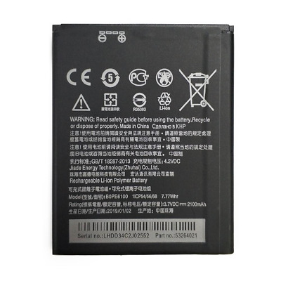 Battery Original 2100Mah For Htc Desire 620 620G Replacement 35H00238-02M