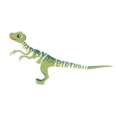 Dinosaur Theme Party Happy Birthday Paper Garland Kids Birthday Decoration