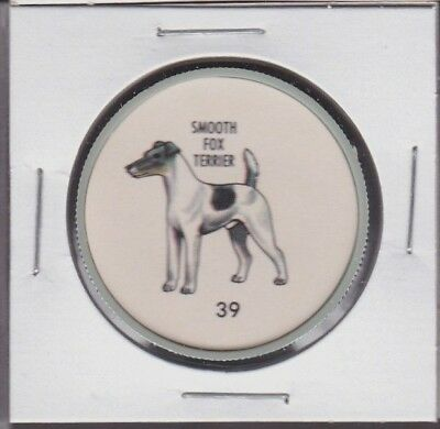 1960's Humpty Dumpty Dog Coin #39 SMOOTH FOX TERRIER